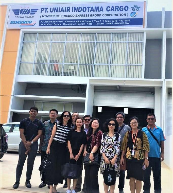 Dimerco Team Visiting UIC Batam 2019