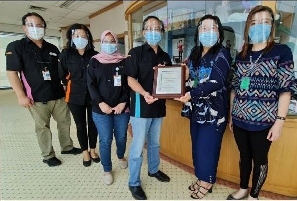 Customer Appreciation Award to PT. Mattel Indonesia Dec 2020
